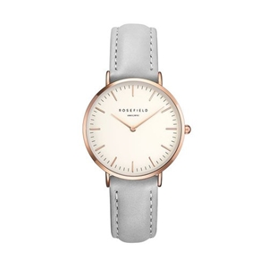 Klocka - The Tribeca White Grey Rose Gold