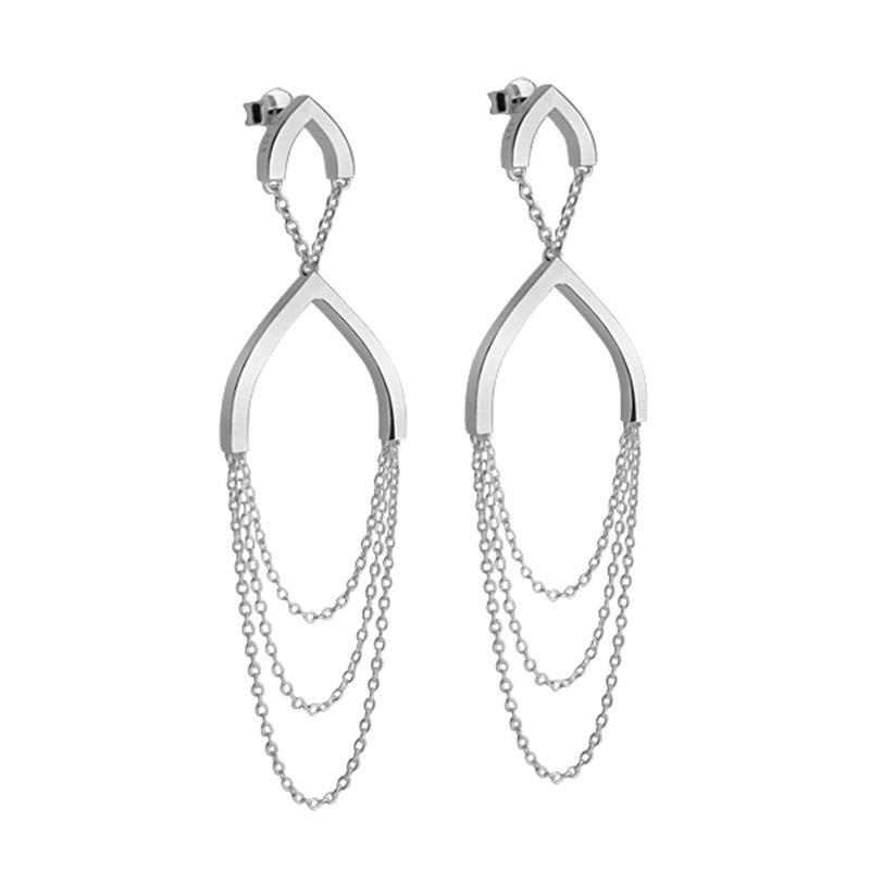 Örhänge - Petal: tri earrings