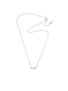 Halsband - Thin Stars Necklace Gold