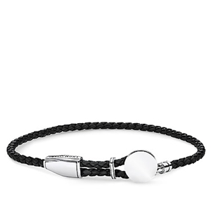 Armband - REBEL AT HEART - LEATHER STRAP DISC