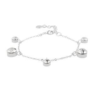 Armband - Canal charm brace s/clear
