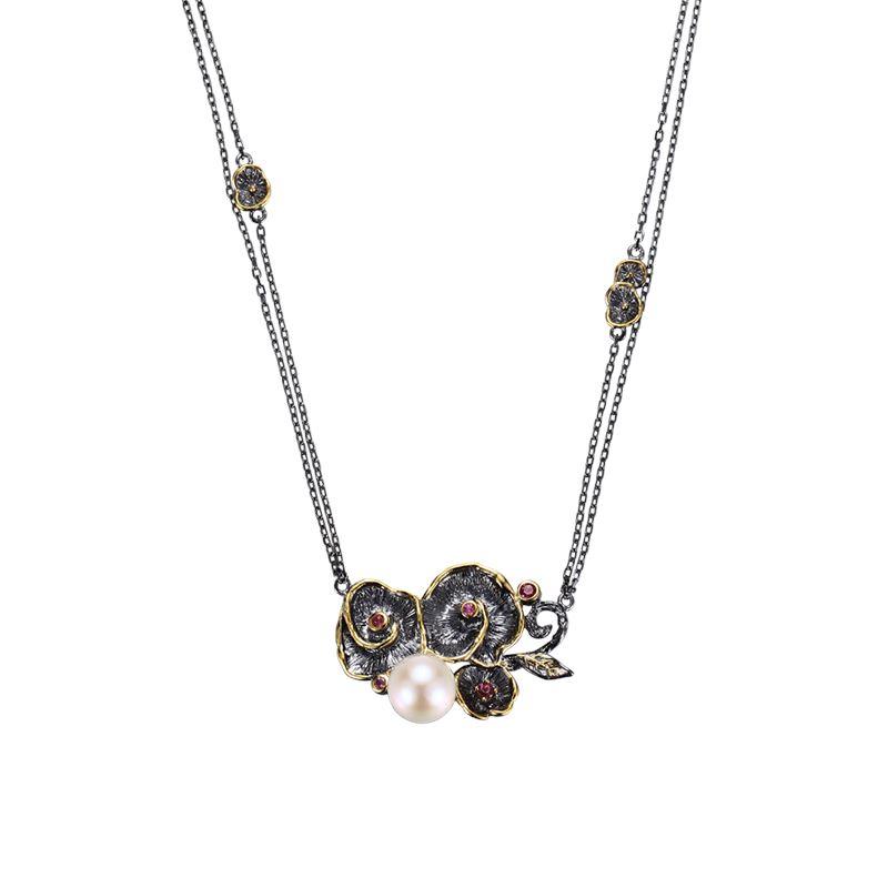 Halsband - Designers Favorites Halsband - Pärla och turmalin