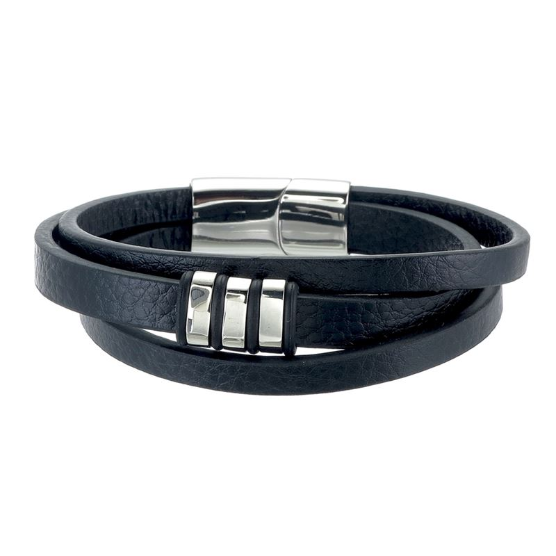 Armband - Herrarmband i skinn