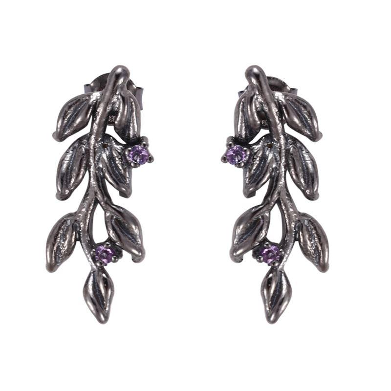 Örhänge - Designers Favorites Örhängen - Blomster med ametist