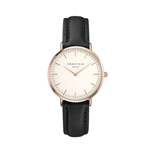 Klocka - The Tribeca White Black Rose Gold