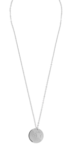 Halsband - Steira pendant neck 42 plain s