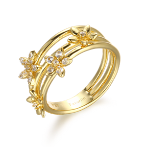 Ring - Designers Favorites Ring - Blommor