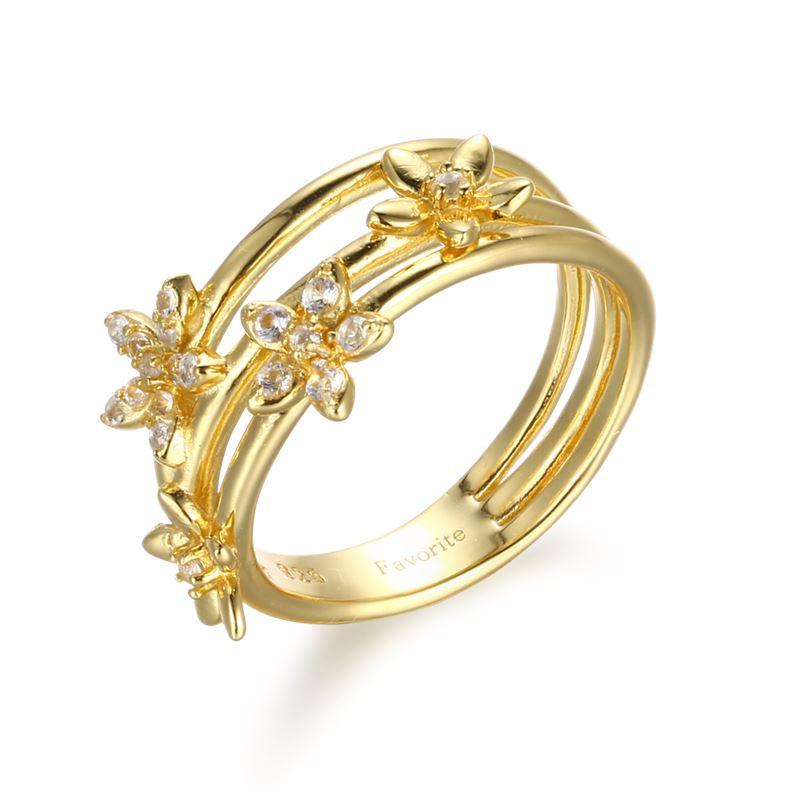 Ring - Designers Favorites Ring - Blommor