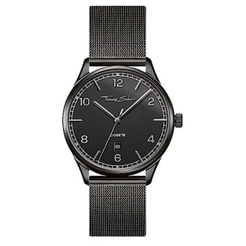 Klocka - WATCH UNISEX CODE TS BLACK