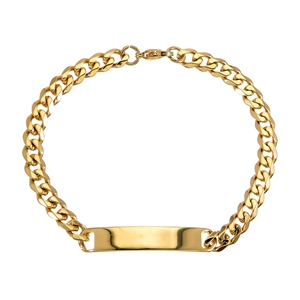 Armband - Guldförgyllt Pansararmband