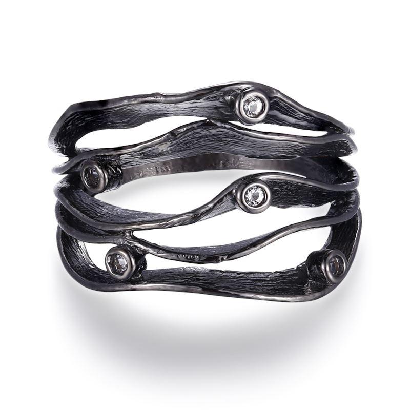 Ring - Sophie Vallentin Ring - Vit Topas